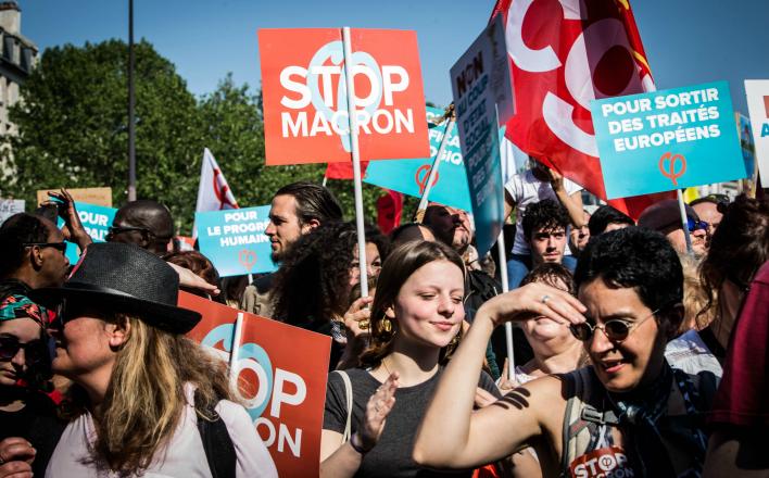 Франция вновь сотрясается от массовых протестов