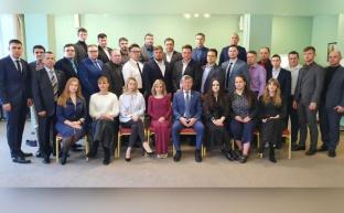 Дмитрий Новиков открыл обучение специалистов по работе в соцсетях в Центре политической учёбы
