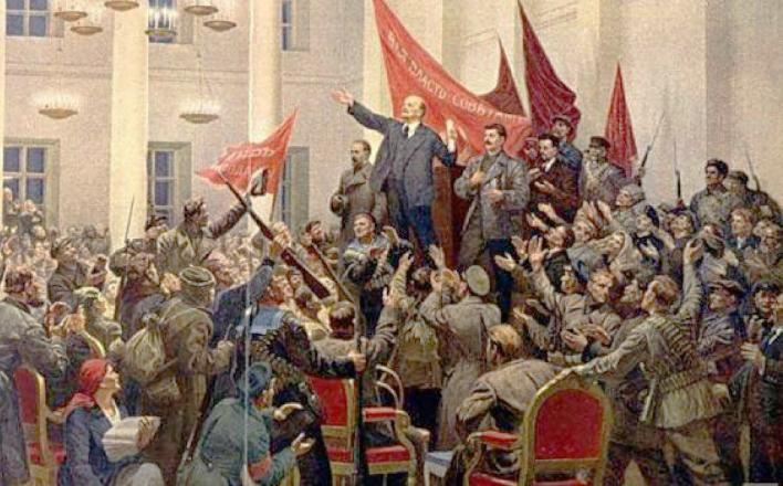 «О работе партии по подготовке к 100-летию Великой Октябрьской социалистической революции»
