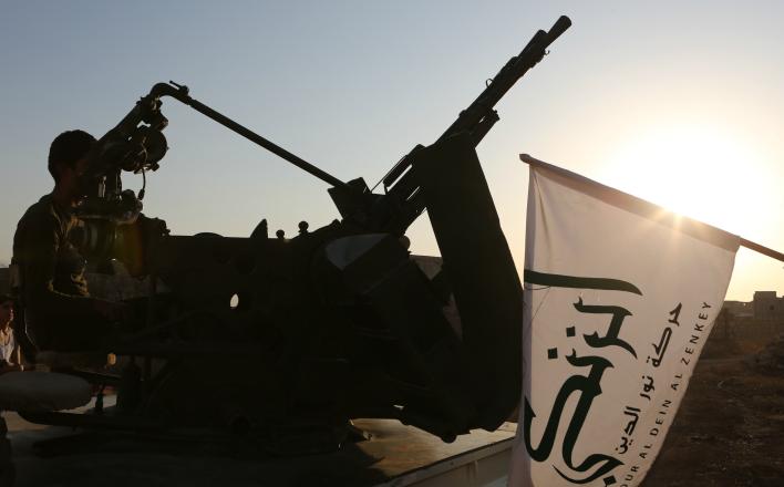 Сирийский фронт. Тяжёлая поступь безумия