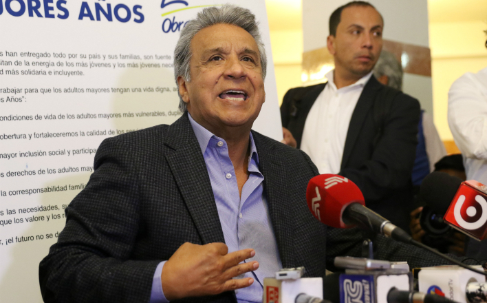 Ленин Морено стал президентом Эквадора