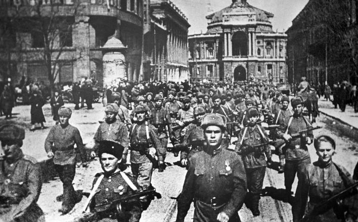 72-я годовщина освобождения Одессы