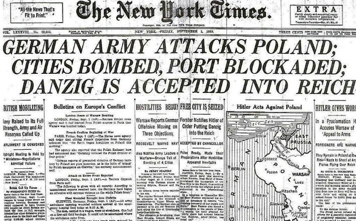 Польский капкан: Заигрывая с Гитлером, Варшава сама угодила в ловушку