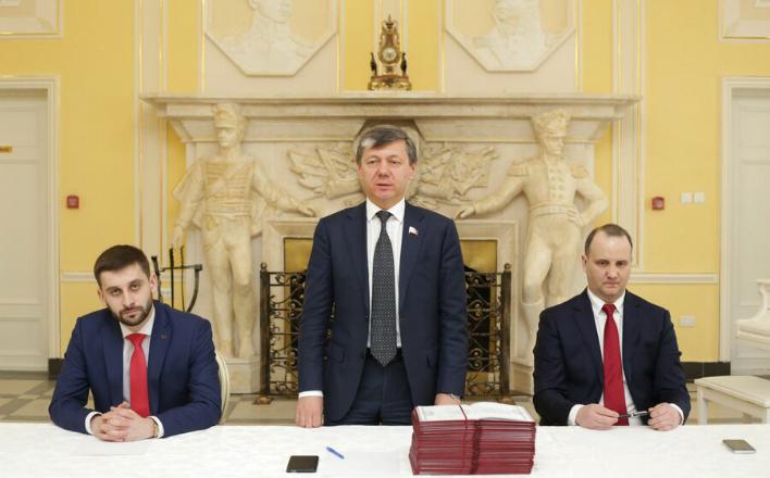 В Центре политической учёбы ЦК КПРФ Д.Г. Новиков поздравил выпускников двадцать первого потока слушателей