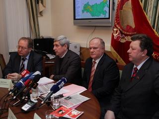 """Г.А.Зюганов: уровень поддержки """"Единой России"""" снижается"""