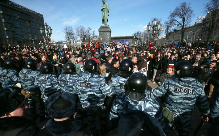 Майдан в Москве стартовал