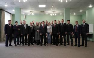 За партами Центра политической учебы – руководители региональных отделений