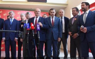 """Г.А.Зюганов: """"Мы идем на выборы вместе со своими союзниками"""""""
