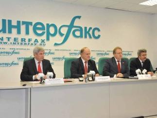Г.А. Зюганов: «Мы считаем прошедшие выборы абсолютно нелегитимными!»