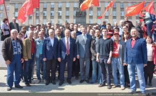 Г.А. Зюганов принимает участие в праздновании Дня города Орла