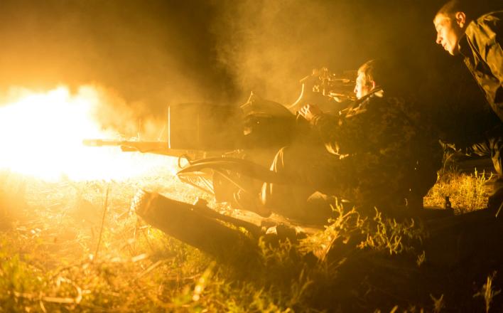 Бои на Юго-Восточном фронте идут, не прекращаясь