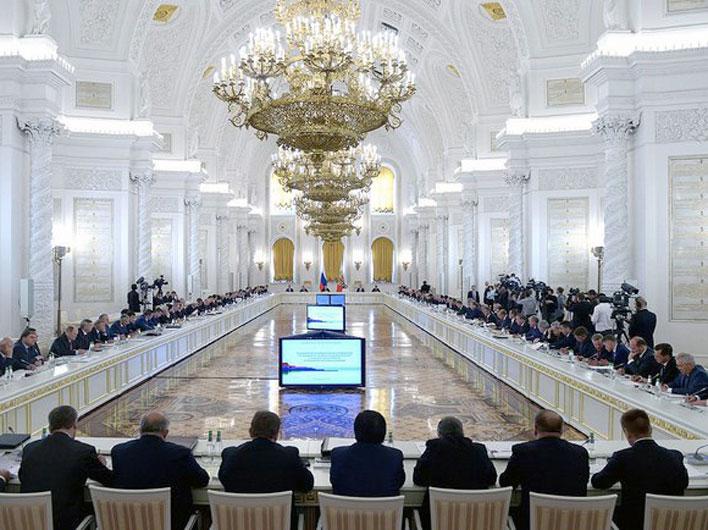 Выступление Г.А. Зюганова на заседании Государственного совета в Кремле