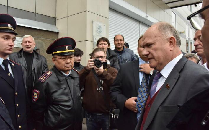 «Рынок превратили в тюрьму». Очередная провокация иркутских властей против Г.А. Зюганова и КПРФ