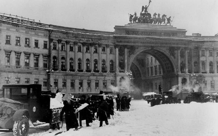 72 года назад снята блокада Ленинграда