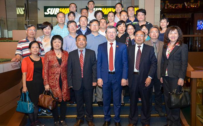 Д.Г. Новиков встретился с делегацией ученых из Китайской Народной Республики
