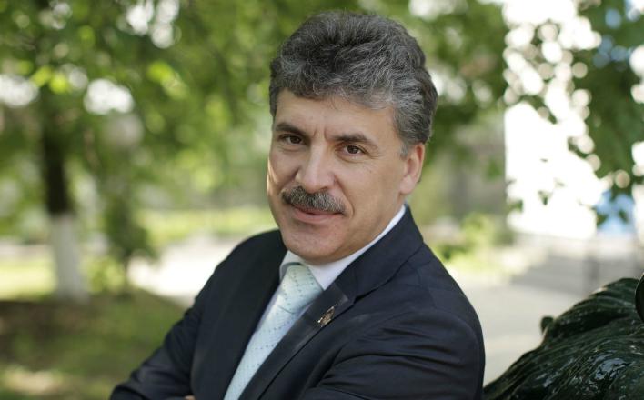 Павел Грудинин: «Коллектив настроен биться до последнего»