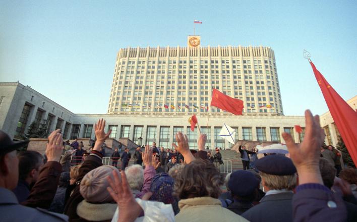 Ровно 24 года назад начался Ельцинский либерал-фашистский путч