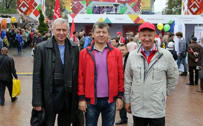Печать КПРФ на Фестивале столичной прессы в Москве