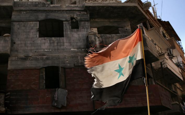 Сирия стала жертвой интервенции, а не гражданской войны