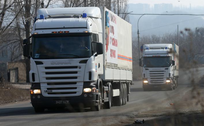 Правительство настаивает на прекращении гуманитарной поддержки Донбасса
