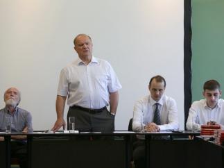 Г.А. Зюганов встретился с активом в Центре политической учебы ЦК КПРФ