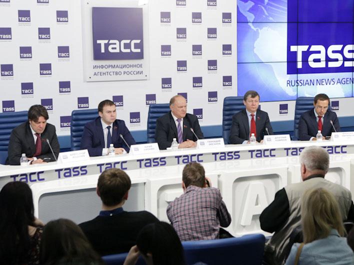 Г.А.Зюганов: «Настало время консолидировать все патриотические силы»