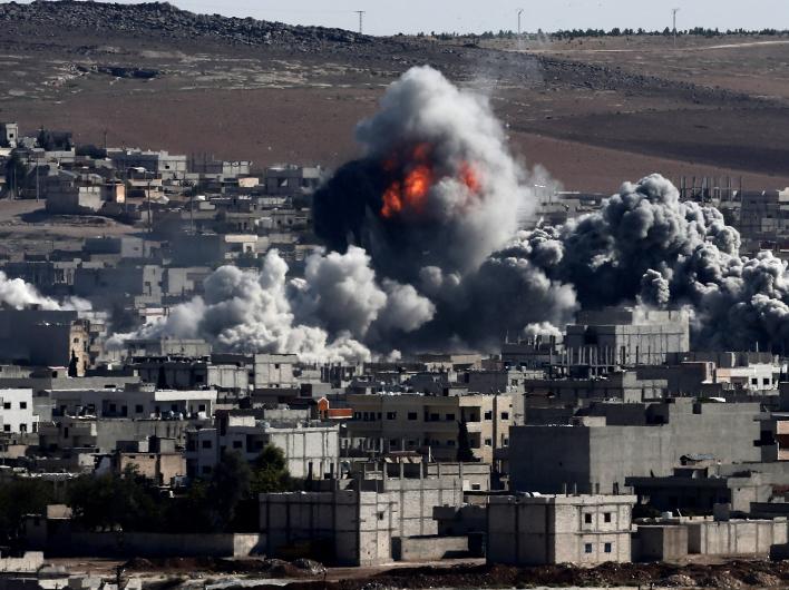 Ваххабитские душманы ИГИЛ-ИГ выбиты курдами из Кобани