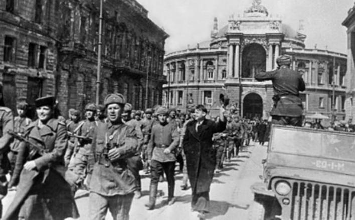 75 лет освобождению Одессы