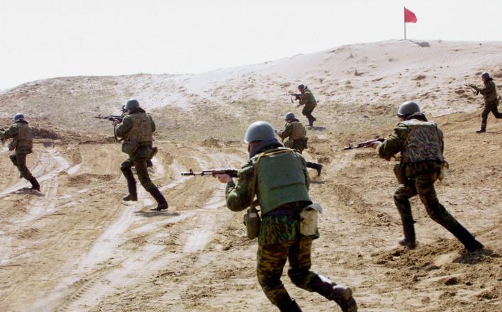 В Чечне напали на воинскую часть Росгвардии