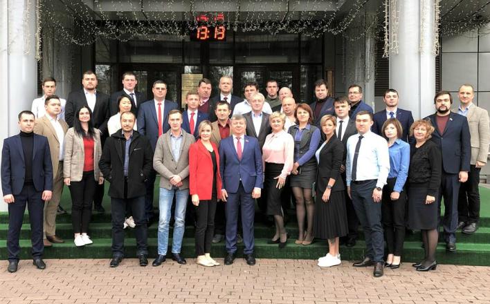 Дмитрий Новиков выступил в Центре политической учебы ЦК КПРФ