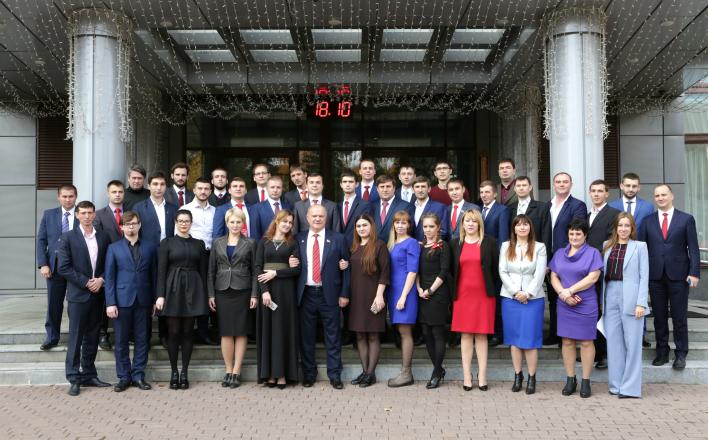 В канун 100-летия Великого Октября Г.А. Зюганов встретился со слушателями 24-го потока Центра политической учебы ЦК КПРФ