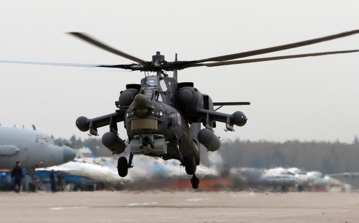 ВКС России потеряли в Сирии вертолёт Ми-28Н