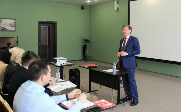 Дмитрий Новиков встретился со слушателями Центра политической учебы ЦК КПРФ
