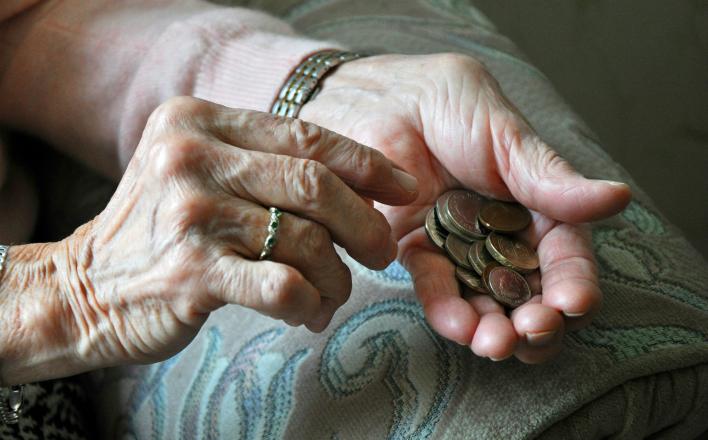 Украине негде взять денег на пенсии