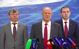 """Г.А.Зюганов: """"Наши граждане не хотят участвовать в грязных выборах"""""""