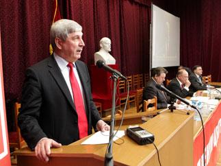 «Об итогах выборных кампаний и задачах по усилению  работы партии в новых условиях»