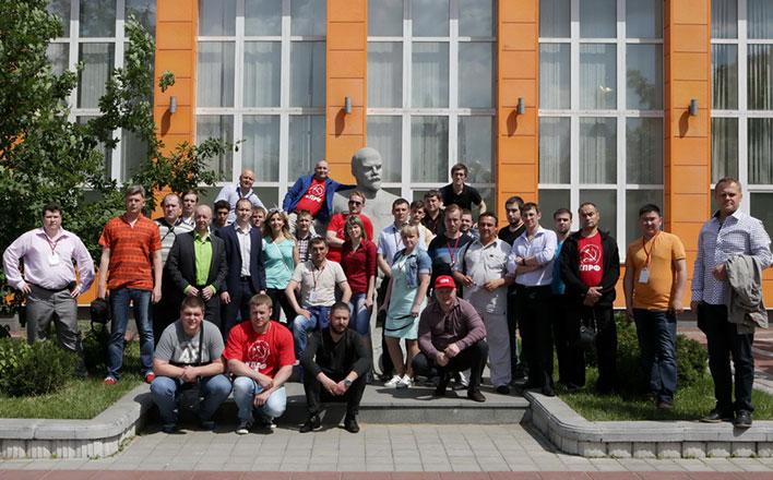 В Центре политической учёбы продолжается обучение молодых агитаторов и пропагандистов