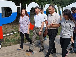 Д.Г. Новиков побывал на Всекавказском молодежном форуме «Машук-2013»