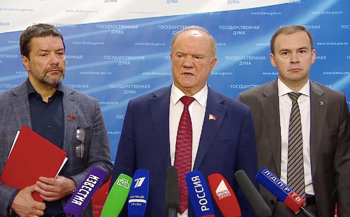 """Г.А.Зюганов: """"Белоруссия – это наш союзник, который вместе с нами отстаивает Русский мир, нашу правду и нашу Победу"""""""