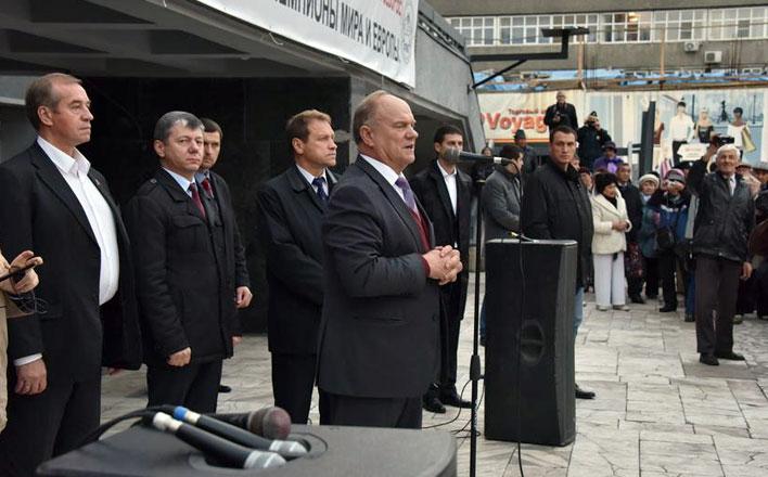 Г.А. Зюганов: Победить на выборах в Иркутске Левченко помогла его программа и сплоченная команда