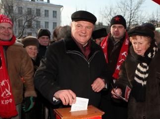 Геннадий Зюганов проголосовал на референдуме