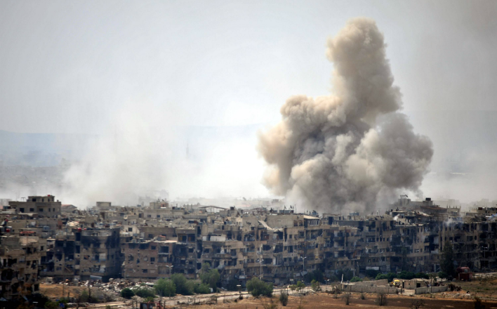 Хроники сирийской войны. Котёл Сувейде